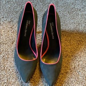 Nine West Gray and Pink High Heels - size 8/38